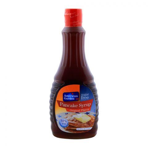 American Garden Sugar Free Pancake Syrup, Original Flavor, 710ml