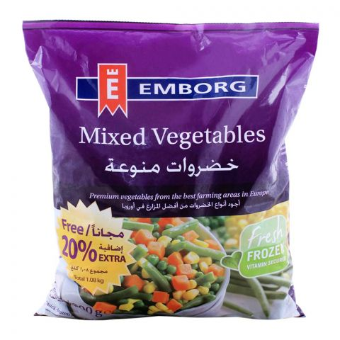 Emborg Frozen Mix Vegetable 900g