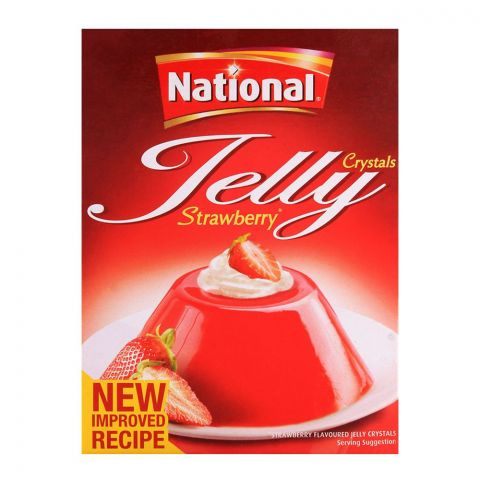National Jelly Crystal Strawberry 80gm