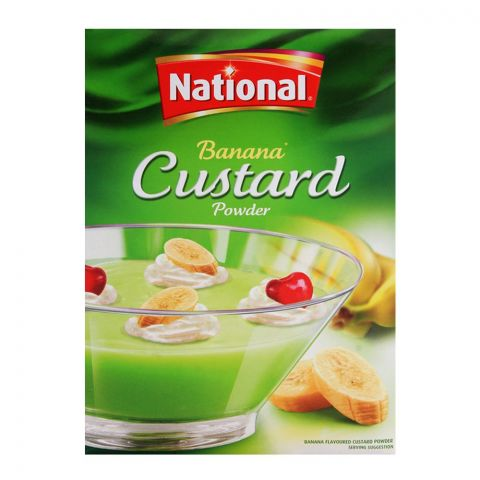 National Banana Custard 300gm