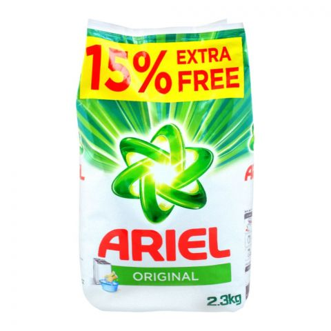Ariel Original Washing Powder, 2.3 KG, 15% Extra
