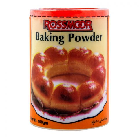 Rossmorr Baking Powder, Tin, 100g