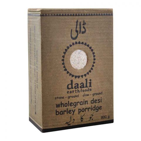 Daali Wholegrain Desi Barley Porridge, Jau Ka Dalia, 800g
