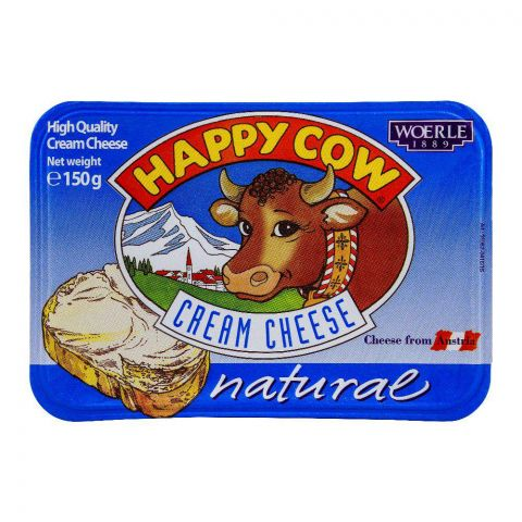 Happy Cow Cream Cheese Natural 150g
