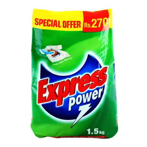 Express Power Detergent Powder 1.5 KG