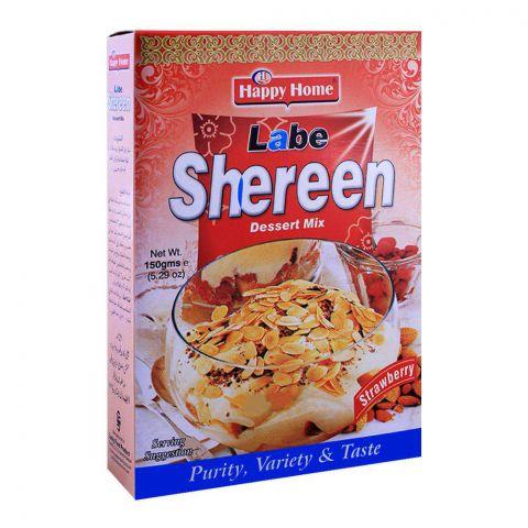 Happy Home Strawberry Labe Shreen Dessert Mix 150g