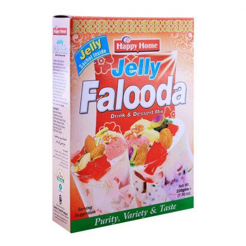 Happy Home Jelly Falooda Drink & Dessert Mix 225g