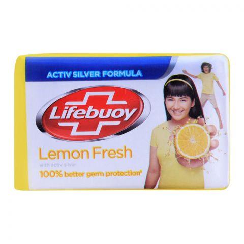 Lifebuoy Lemon Fresh With Activ Silver Soap 112g
