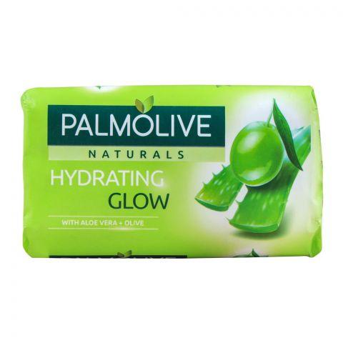 Palmolive Naturals Hydrating Glow Soap, Aloe Vera + Olive, 110g