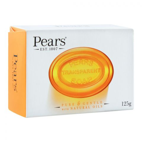 Pears Transparent Soap With Natural Oils, 125g