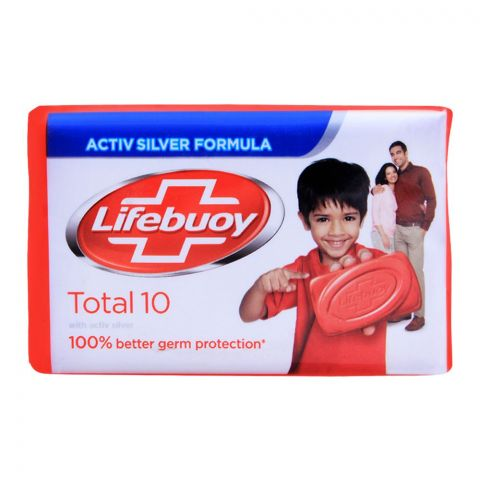 Lifebuoy Total 10 With Activ Silver Soap 112g