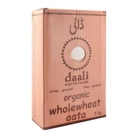 Daali Organic Whole Wheat Atta, 5 KG