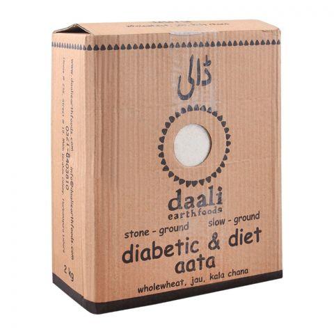Daali Diabetic & Diet Atta, 2 KG