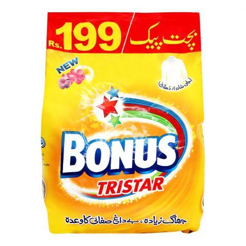 Bonus Tri Star Detergent Powder 2000g