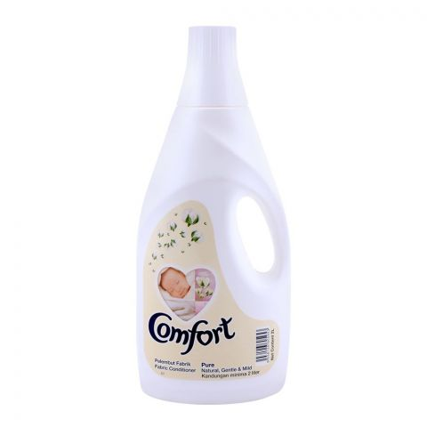 Comfort Fabric Conditioner, Pure Gentle & Mild, 2 Liter