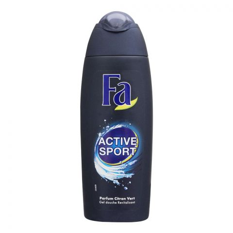 Fa Active Sport Green Citrus Shower Gel, 250ml
