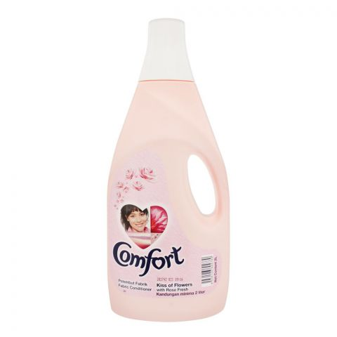 Comfort Kiss Of Flower Fabric Conditioner, Pink, Imported, 2 Liters