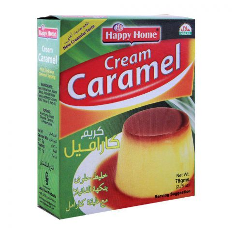 Happy Home Cream Caramel 60g