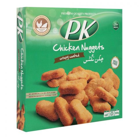PK Chicken Nuggets, Crispy Coated, 900g