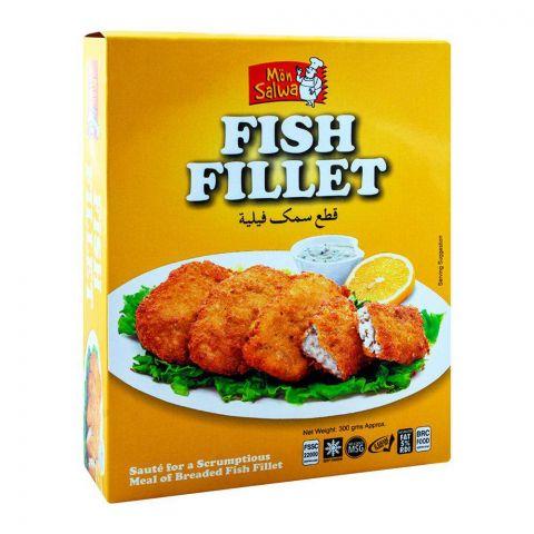 MonSalwa Breaded Fish Fillets 300g