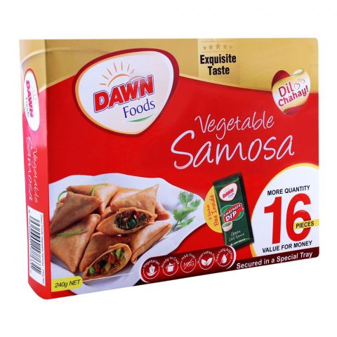 Dawn Vegetable Samosa, 12 Pieces, 240g