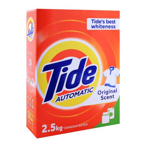 Tide Automatic, Original Scent, 2.5Kg Box
