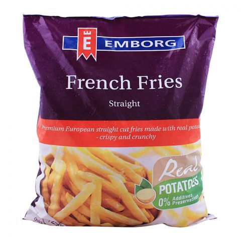 Emborg French Fries, Straight, 2.5 KG