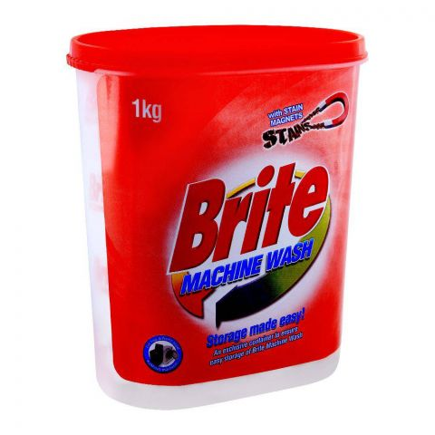 Brite Machine Wash Detergent Powder 1000g