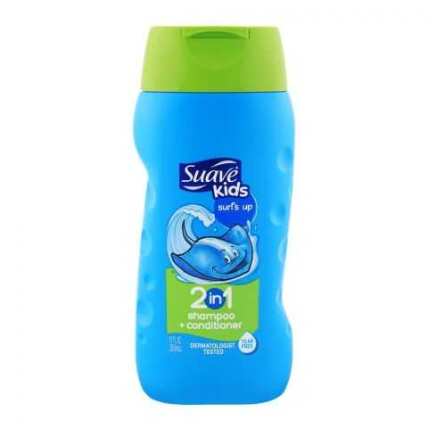 Suave Kids Surf`S Up 2-in-1 Shampoo + Conditioner 12oz