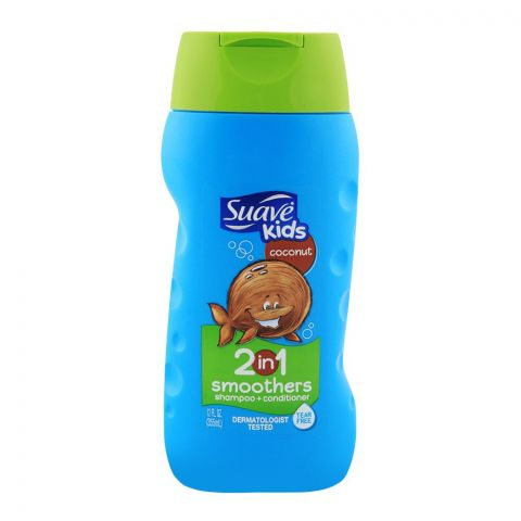 Suave Kids Cowabunga Coconut 2-in-1 Shampoo + Conditioner 12oz