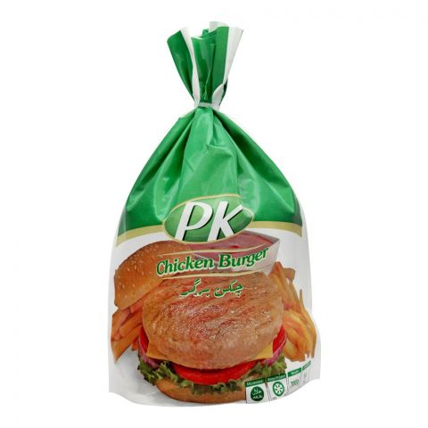 PK Chicken Burger Patties, 700g, 14 Pieces