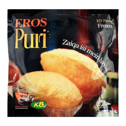 Eros Frozen Puri, 10-Pack
