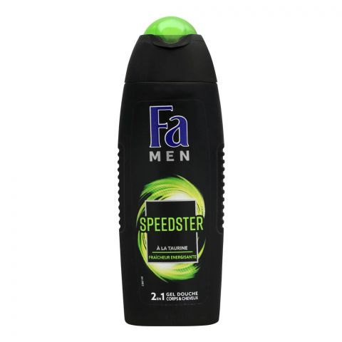 Fa Men Speedster 2-In-1 Hair & Body Shower Gel, 250ml
