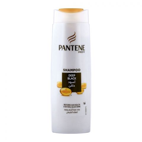 Pantene Deep Black Shampoo 400ml
