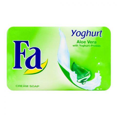 Fa Yoghurt Aloevera Green Soap 175gm