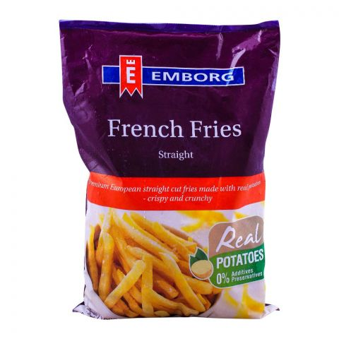 Emborg French Fries, Straight, 1 KG