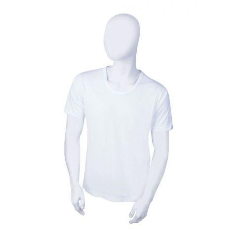 Noorani Summer King Full Sleeves Men's Vest, White
