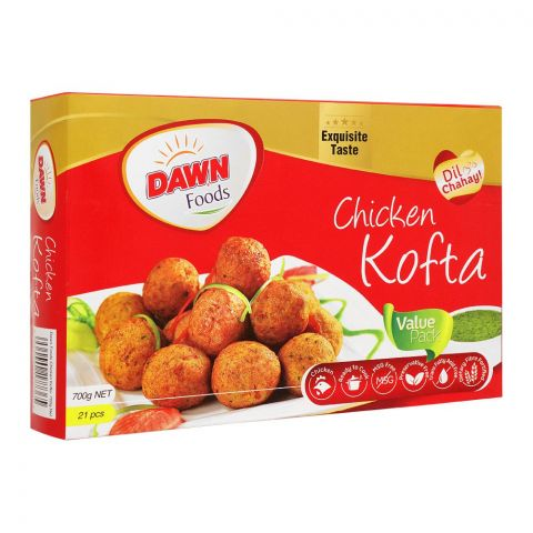 Dawn Chicken Kofta, Value Pack, 21 Pieces, 700g