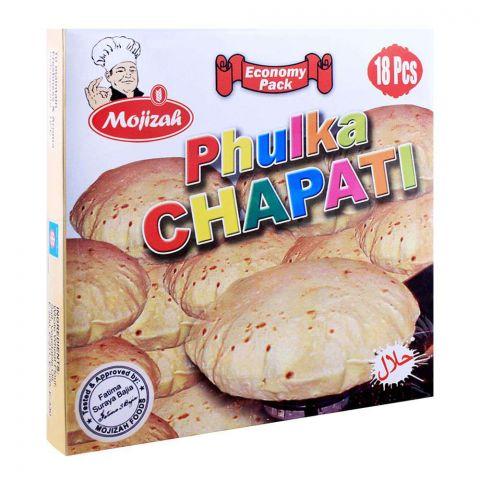Mojizah Phulka Chapati, 18 Pieces