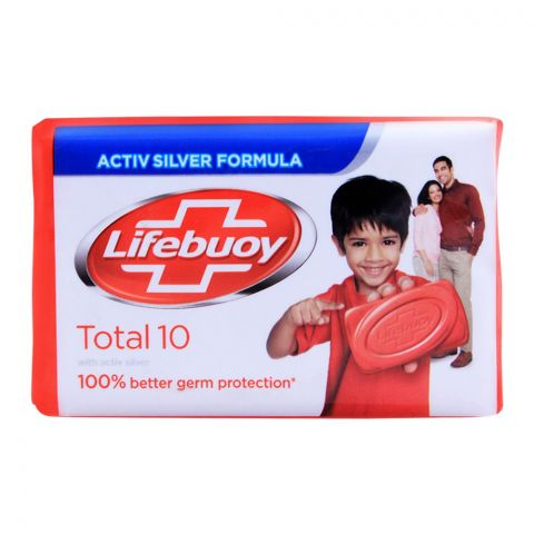 Lifebuoy Total 10 With Activ Silver Soap 146g