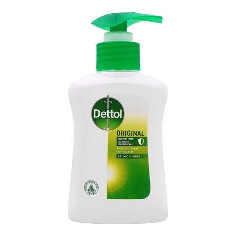 Dettol Original Antibacterial Hand Wash, Pump, 150ml