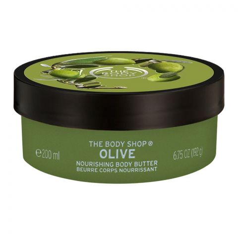 The Body Shop Olive Nourishing Body Butter, 200ml