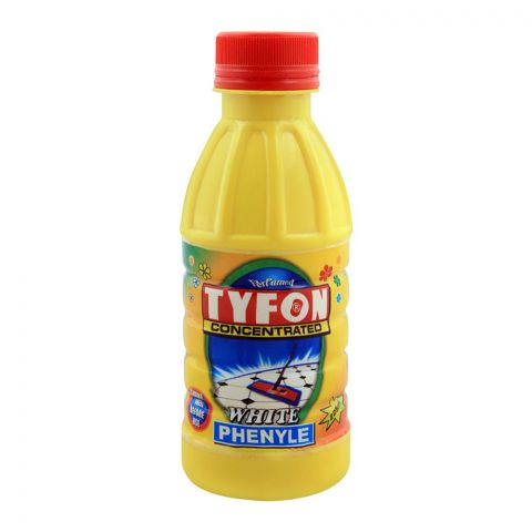 Tyfon White Phenyle, Concentrated, 225ml