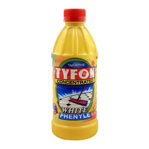 Tyfon White Phenyle, Concentrated, 500ml
