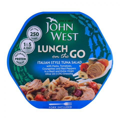 John West Italian Style Tuna Salad, Lunch On The Go 220g