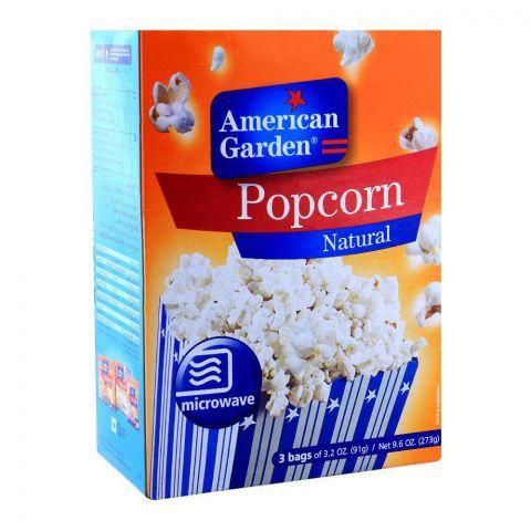 American Garden Natural Popcorn 273g