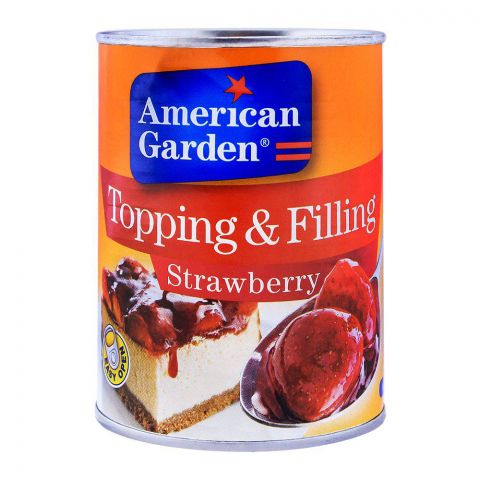 American Garden Strawberry Topping & Filling 595g