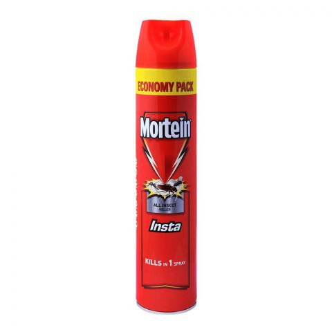 Mortein Insta All Insect Killer Spray, Economy Pack, 600ml