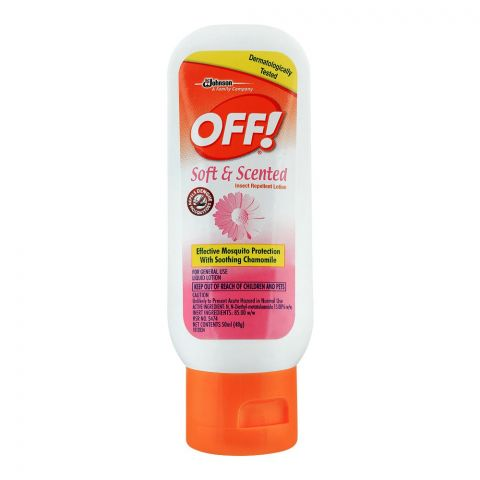 Off Soft & Scented Insect Repellent Lotion, 50ml