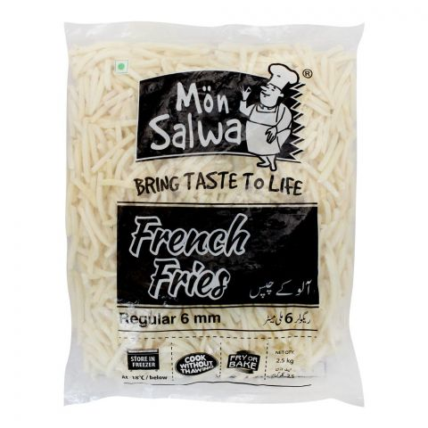 MonSalwa French Fries, Regular 6mm, 2.5 KG